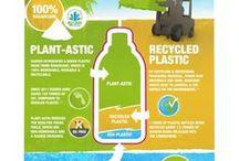 Infographies DD et RSE / Infographies sur le développement durable et la RSE.