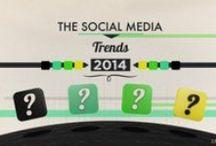 Infographies Social Media / Infographies sur les chiffres, les statistiques, les best practices des réseaux sociaux.