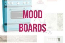Mood Boards! / Mood Boards for all rooms!