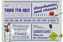 Our Wimbledon Open House Mood Board / We're having a Wimbledon Open House on 7th July! 1-3 Devizes Road SN1 4EP