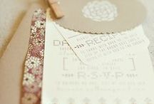 Design-Invitations / by Susanne Bamberger