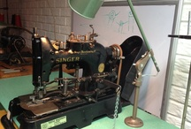 Antique Sewing Machines / One stitch at a time