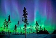 Auroras / Northern & Southern Lights / Fascinating, colorful photos of Auroras - from around the world. / by Nancy Davis