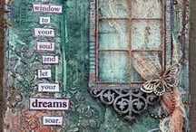 Inspirational Art Journals / Other people's art journals that inspire me and fill me with awe.