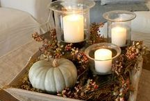 Fall Decorating / by Carol Jacobs