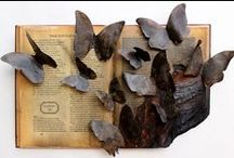 Altered Book Arts / Book Art, Altered books / by Shannon Amidon