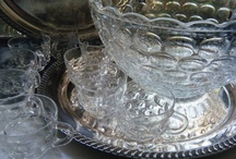 Vintage Punchbowls Making a Comeback! by KaiserVonVintage / Perfect for any Party and Especially Easy for Wedding Receptions!  ~Featuring Vintage Punchbowls, Display Ideas for Beverage Stations, Punch Stations, Serve Yourself Drink Station, Drink Bar, Punch Table, Centerpieces, Punch Recipes for Every Occasion and Get-Together, Depression Glass, Hollywood Regency, Tom and Jerry, 1920's to the 1980's... Everybody loves punch! / by Summer KaiserVonVintage