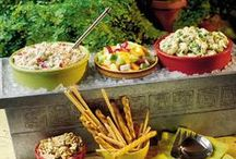 All Party Food / Ideas for recipes to make at parties.