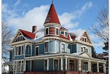 Victorian Homes / by Nancy Davis