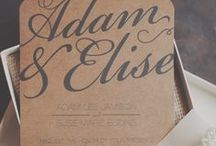 Invites   Save-The-Dates   Thanks / by Julianne Plewes