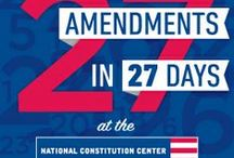 27 Amendments (in 27 Days) / The National Constitution Center is profiling one amendment a day throughout February both onsite at the museum and online at constitutioncenter.org. Check out some of the artifacts being featured at the museum! / by National Constitution Center