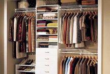 Closet / Preciso de ideias, preciso de um. / by Fernanda E.