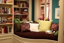 Dream Home - Reading Nooks and Book Storage