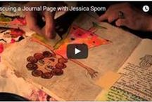 Youtube Tutorials by Jessica Sporn Designs / Jessica Sporn Designs- My Youtube Tutorials showing how I use my stencils and other techniques in free individual lessons.