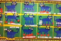 Pete The Cat-Free Activities / Did he cry? Goodness No! It's all good..... First week of school Pete the Cat Activities for Tk and Kindergarent
