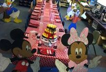 Disney Side @Home Celebration Party Ideas / Ideas to help you host a DisneyKids or DisneySide Party of your very own