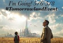 """#TomorrowlandEvent / Join us in all of the excitement leading up to the May 22, 2015 release of """"Tomorrowland"""" from Disney Studios  http://movies.disney.com/tomorrowland/   Be sure to follow #TomorrowlandEvent for all the latest"""