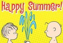 "Summer According to ""Peanuts"""
