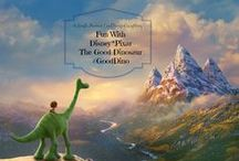 """Fun With The Good Dinosaur #GoodDino / A single moment can change everything-now you can have fun with the whole family with these free activities, downloads, games and recipes inspired by Disney*PIxar's """"The Good Dinosaur"""""""