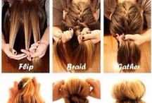 Hair Anyone Can Do / Quick and Easy Hair Styles That Anyone Can Do