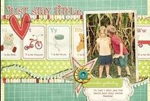 Scrapbook layouts / by Jenny Murphy Naus