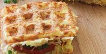 Ways to use a waffle iron