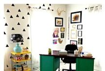 home office / by Tricia Gillespie