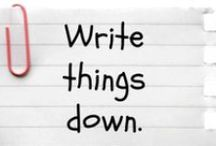 blogging/writing tips / by Tricia Gillespie