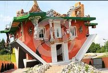 Amazing Houses / Houses that are wonderful funny, creative, and just plain amazing.