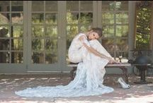 Ju.Lee Collection: Vintage Muse / Glamorous, vintage inspired silk and lace wedding dresses with a touch of gold and rose gold / by Ju.Lee Collection