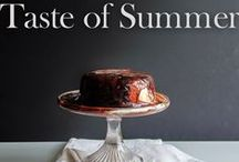 Taste of Summer / Summer favourite flavours and inspirations  #TasteofSummer