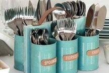 Coole Upcycling Ideen | Deko / Gebt alten Gegenständen einen neuen Sinn und upcycelt sie zu stylischen und individuellen Dekorations-Artikeln