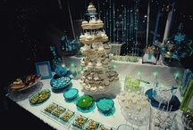 dessert and cake tables