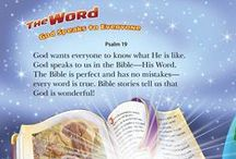 Bible for kids / Parents and grandparents love this