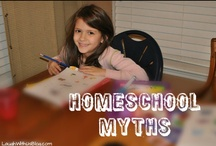 Homeschooling / by Esther Irish (LaughWithUsBlog)