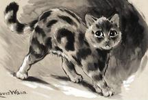 Cat'spiration / de l'inspiration  / by Anne Favrelle