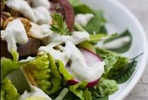 Vegan Salad Bar / Vegan based salads & dressing recipes.