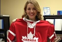 Red, White & Moose Pins |  Patriotism / Beavers, poutines and hockey are some iconic Canadian symbols. As proud Canadians we share our red and white Canadian pride while at Shareholders'. GO CANADA GO!| Les castors, la poutine et le hockey sont des symboles iconiques du Canada. Nous sommes fiers d'être Canadiens et aimons afficher nos couleurs, le rouge et le blanc, pendant la Semaine internationale des associés. GO LE CANADA! / by Pin a Canadian | Canadiens en un clic