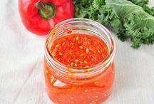 Vegan Sauces & Seasonings / Vegan condiment, seasoning & sauce recipes.