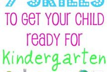 Preschool: Kindergarten Readiness / what your child needs to know before they go to kindergarten / by Ms. Children's Ministry Director