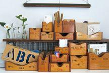 Organizing Vintage Style