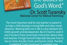 Homeschool: Resources to build a child's faith / Pro2gé SUMMIT God's Greatness is a complete, guided, 1-year mentoring adventure that equips disciples for life. Every lesson in the Guidebook stirs the imagination and will help kids know, love and serve God. Lead your children ages 6-12 through a deliberate progression of foundational truths, character traits, and practical skills.
