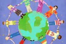 Multicultural Kids / Lots of Ideas to foster global awareness... / by Lorraine Vallis