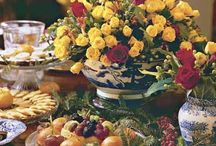 TABLE EXQUISITE............ / (Tablescapes on separate boards) / by Barbara McKinney
