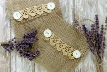Arts & Crafts - Lavender / Pretty things to make using lavender..... / by Marie E