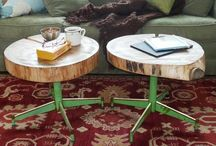Everyday stuff=extraordinary furniture / Furnishings made from ordinary objects such as skateboards, pallets, spools...