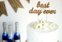 cake toppers / by Boho Weddings & Life
