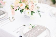 • wedding table • / My personal selection of the best inspirations for your wedding table!
