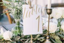 • wedding numbers •