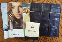 Monat by Sherri / Anti-aging, Botanically safe hair care products.      Www.gr8thair.mymonat.com / by Sherri